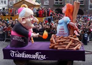 [[File-Karnevalswagen Kardinal Meisner 2005.jpg|thumb|Karnevalswagen Kardinal Meisner 2005]]